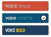 wordpress voice teması incelemesi